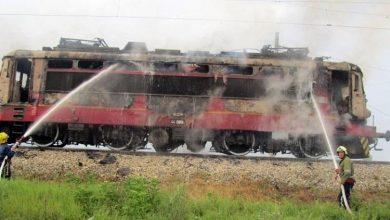 пожар-локомотив